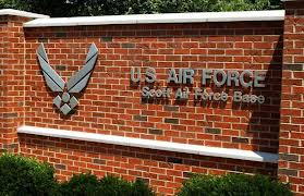 Federal Page - Scott AFB Sign