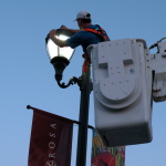 street lighting bucket