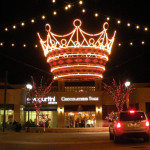 commercial holiday lighting crown